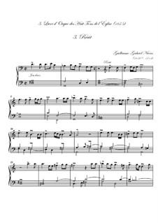 Troisième livre d'orgue: No.3 Récit by Guillaume-Gabriel Nivers