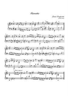 Gavotte in D Minor: Gavotte in D Minor by Louis Couperin