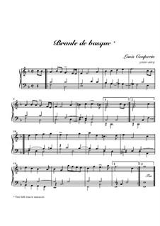 Branle de basque: Branle de basque by Louis Couperin