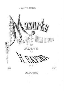 Mazurka, Op.12: mazurka by Jean-Henri Ravina