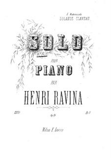 Solo, Op.15: Solo by Jean-Henri Ravina