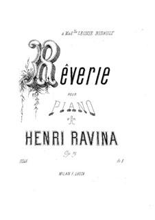 Reverie, Op.19: Reverie by Jean-Henri Ravina