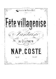 La source du lyson (The Lyson River Spring), Op.47: Para Guitarra by Napoléon Coste