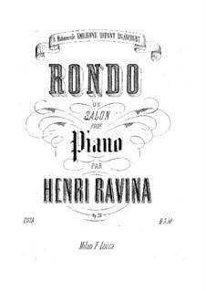 Rondo de Salon, Op.26: Rondo de Salon by Jean-Henri Ravina