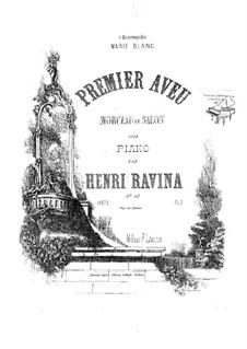 Premier Aveu, Op.40: Premier Aveu by Jean-Henri Ravina