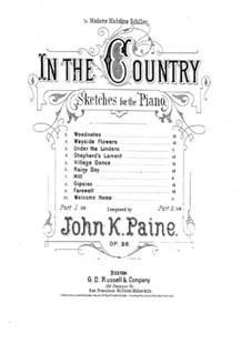 Ten Sketches, Op.26: No.8 Gipsies by John Knowles Paine