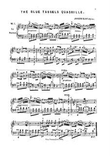 The Blue Tassels Quadrille, Op.24: The Blue Tassels Quadrille by Joseph Kaspar Raff