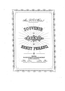 Souvenir: Souvenir by Ernst Perabo