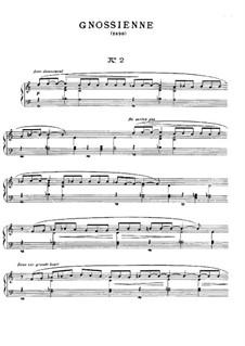No.2: Para Piano by Erik Satie