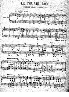 Le Tourvillon, Op.22: Para Piano by Tito Mattei