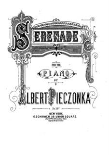 Serenade for Piano: Serenata para piano by Albert Pieczonka