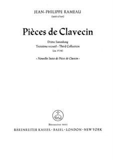 Nouvelles suites de pièces de clavecin: para um único musico (Editado por H. Bulow) by Jean-Philippe Rameau