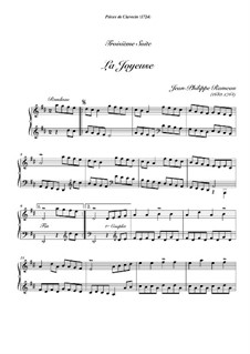Harpsichord Suite in D Major, RCT 3: La joyeuse by Jean-Philippe Rameau