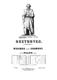 Quartet No.5 in A Major: versão para piano by Ludwig van Beethoven