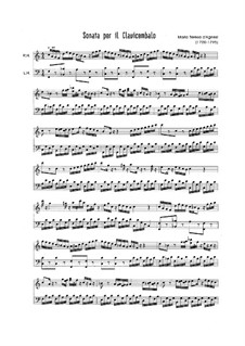 Sonata for Harpsichord: soneto para cravo by Maria Teresa Agnesi