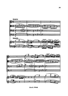 Quintet for Strings and Piano 'The Trout', D.667 Op.114: movimento II by Franz Schubert