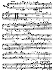Six Bagatelles for Piano, Op.126: Bagatelle No.4 by Ludwig van Beethoven