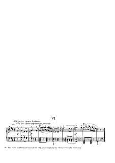 Bagatelles, Op.33: Bagatelle No.6 (with fingering) by Ludwig van Beethoven