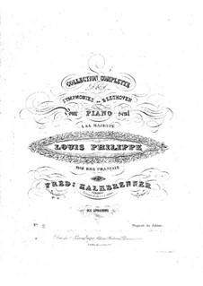 Symphony No.2, Op.36: versão para piano by Ludwig van Beethoven