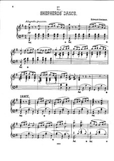 Henry VIII: Shepherds' Dance, for piano by Edward German