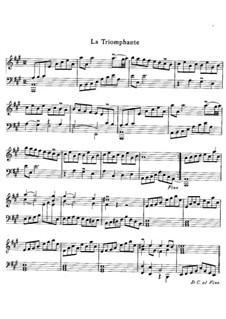 Harpsichord Suite in A Minor, RCT 5: La triomphante by Jean-Philippe Rameau