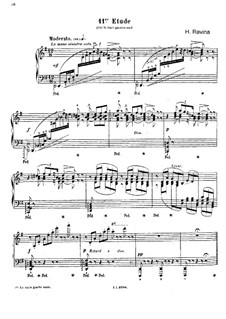 Etudes Artistiques, Op.83: No.11 by Jean-Henri Ravina
