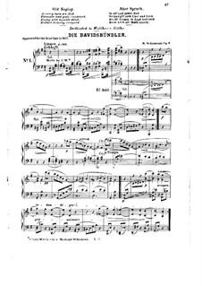 Dances of the League of David, Op.6: No.1 by Robert Schumann