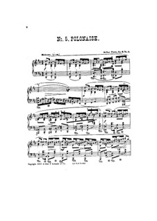 Five Pieces, Op.6: No.5 Polonaise by Arthur Foote