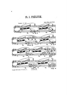 Five Pieces, Op.6: No.1-2 Prelude and Nocturne by Arthur Foote