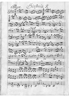 Sinfonia in G Minor: Sinfonia in G Minor by Antonio Filtz