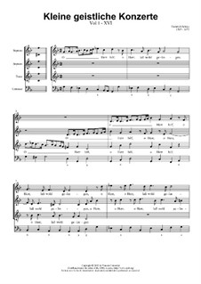 Kleine geistliche Konzerte, Op.8: Nr.16 O Herr hilf, SWV 297 by Heinrich Schütz