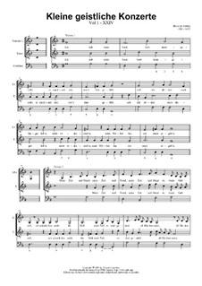 Kleine geistliche Konzerte, Op.8: Nr.25 Ich hab mein Sach Gott heimgestellt, SWV 305 by Heinrich Schütz
