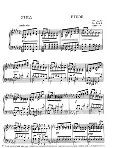 Selected Etudes I: Selected Etudes I by Alexander Scriabin