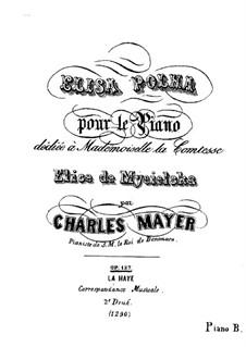 Elisa Polka, Op.187: Para Piano by Charles Mayer