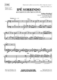 Ipê Sorrindo (Smiling ipê tree), para orquestra de cordas (2008): Partes completas by Zoltan Paulinyi