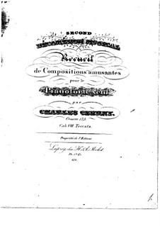 Second Décameron Musical: livro VIII by Carl Czerny