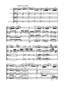 Quartet No.6 in B Flat Major: movimento II by Ludwig van Beethoven