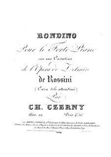 Rondino in C Major, Op.22 No.1: Rondino in C Major by Carl Czerny