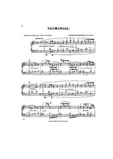Four Bagatelles, Op.39: No.1 Promenade by Philipp Scharwenka