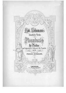 Fantasia in C Major, Op.131: Parte de solo by Robert Schumann