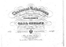 Variations sur la valse Charmante de J. Strauss, Op.249: Variations sur la valse Charmante de J. Strauss by Carl Czerny