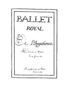 L'impatience, LWV 14: L'impatience by Jean-Baptiste Lully