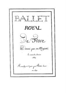 Flore, LWV 40: Flore by Jean-Baptiste Lully