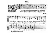 Lo, How a Rose E'er Blooming: partituras de vocais by Michael Praetorius