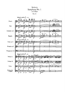 Fragments: movimento I by Ludwig van Beethoven