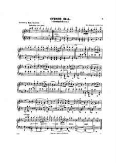 Scenes from Childhood, Op.62: No.12 Evening bell by Theodor Kullak