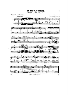 Scenes from Childhood, Op.62: No.4 On the play ground by Theodor Kullak