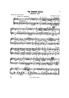 Scenes from Childhood, Op.62: No.9 The Birdie's death by Theodor Kullak