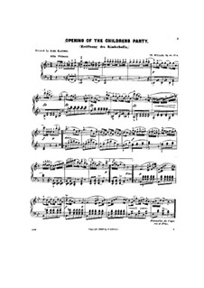 Scenes from Childhood, Op.81: No.4 Opening of the children's party by Theodor Kullak