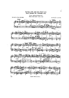 Scenes from Childhood, Op.81: No.5 Loving soul and pure heart gay lead through life a pleasant way by Theodor Kullak